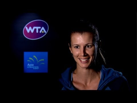 Tsvetana Pironkova 2014 Apia International Sydney SF Interview