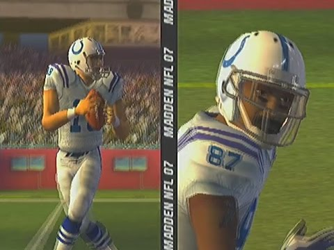 MADDEN NFL 2007- Retro game of the day madden 2007 gameplay on the ps2. in this madden 2007 gameplay we have the one of the bets match ups I madden 2007 the colts and Peyton vs the pats ...