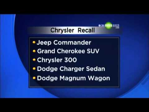 Chrysler recalls vehicles to fix ignition switch