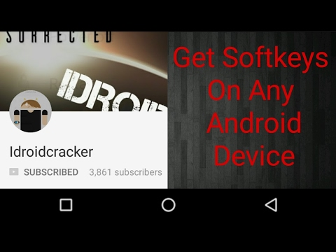 add digital keys or soft keys to any android phone