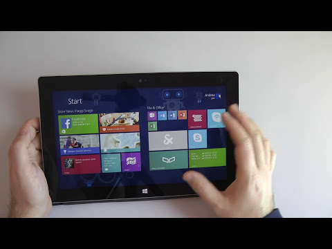 Microsoft Surface 2 la videorecensione di HDBlog.it