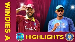 LIVE West Indies A v India A 4th ODI India Tour Of West Indies