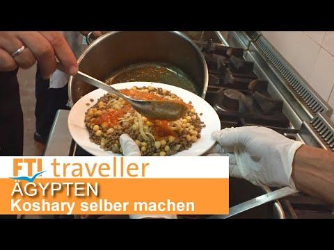 Ägyptische Küche: Koshary selber machen
