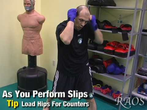 Kickboxing Training - Defense, Slips & Counters Image 1