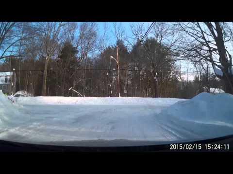 Snowmageddon 2015 Pt 1- Post Valentine's Day Storm in Massachusetts