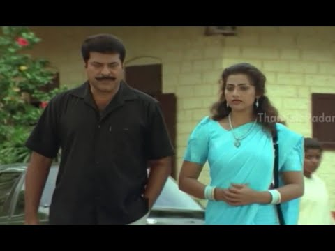 Mammootty Reveals About His Past To Meena - Commissioner Eeswar Pandiyan Movie Scenes video