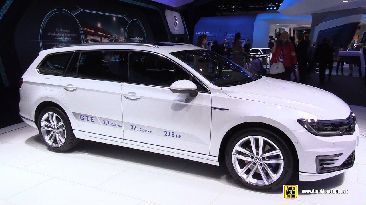 2015 Volkswagen Passat Gte Variant Exterior And Interior
