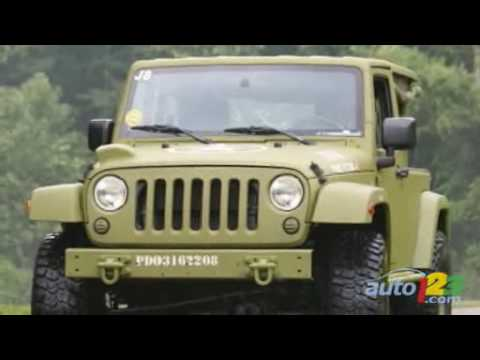 Jeep Wrangler J8 Sarge Prototype by Auto123.com