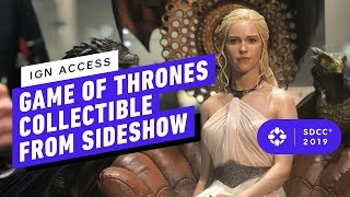 Game of Thrones' Daenerys Gets Ultra Lifelike Statue - Comic Con 2019