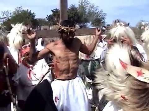 San Miguel Zapotitlan, semana santa judios 2013 Jueves Santo 3/4