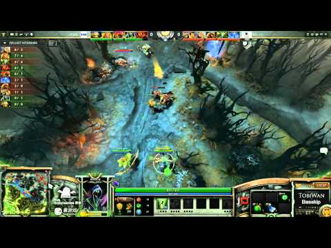 Invictus Gaming vs CNB Game 2- SinaCup China Dota 2 WB Quarter Final - TobiWan & BassKip