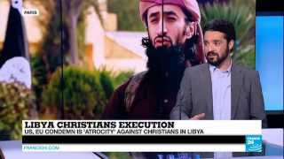 LIBYA - EU condemns atrocities against Christians