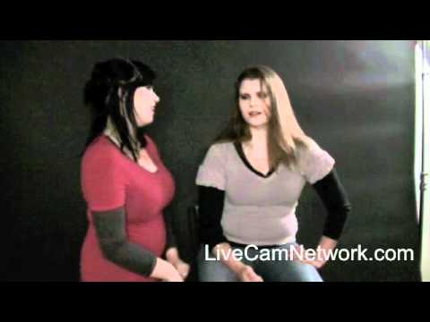 2 Webcam girls talk about video chatting