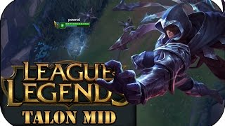 LEAGUE PRESEASON 7 TALON MID | League of Legends Gameplay deutsch