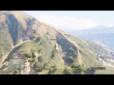 GTA V - Invasores da Base - Missão Online $18.750 RP:1325