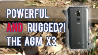 AGM X3: Actually Rugged AND Premium Performance