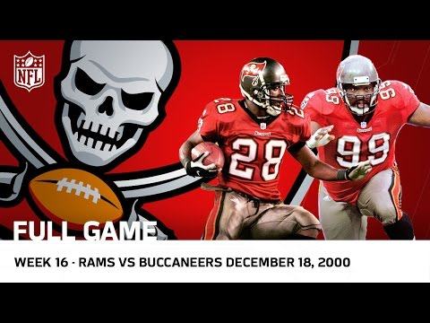 Buccaneers Revenge Buccaneers Vs Rams Week 16 2000 Nfl Full