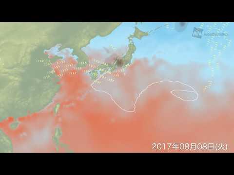 台風5号が通過後 海水温が劇的変化 - YouTube (08月10日 08:34 / 9 users)