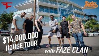 Foxin' Around: De'Aaron Fox tours FaZe Clan's new $14,000,000 Hollywood Hills Mansion