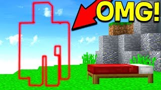 INVISIBLE BED WARS DEFENSE TROLL! (Minecraft Bed Wars)