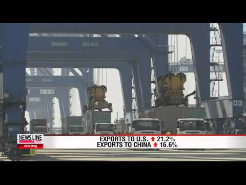 Korea's Exports Surge in January on Signs of Global Recovery [Arirang News]