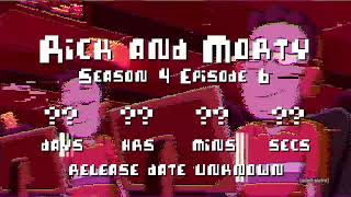 Rick and Morty - Season 4 - Release Date Countdown
