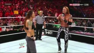 WWE RAW 2307.2012]  Lita vs. Heath Slater. APA Return
