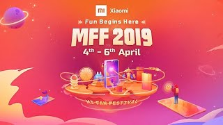 Xiaomi MFF OFFER 2019 DON'T MISS THIS OFFER.