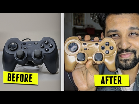 How To Custom Paint Your ps3 Controller