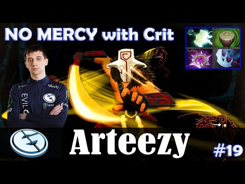 Arteezy - Juggernaut Safelane | NO MERCY with Crit (Razor) | Dota 2 Pro MMR Gameplay #19