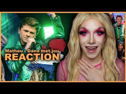 NETHERLANDS -  Matheu - Dans met jou (National Final Performance)   Junior Eurovision 2019 REACTION