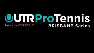 UTR Pro Tennis Series Brisbane Thursday 2nd July
