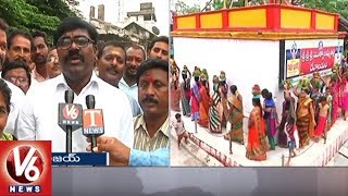 MLA Puvvada Ajay Participates In Bonalu Festival Celebrations | Khammam