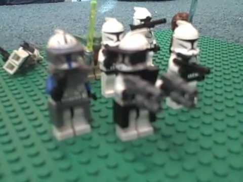 The Best Lego Star Wars - Clone Wars - Clones vs Droids