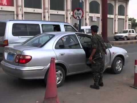 RAW VIDEO  Tight Security in Sanaa Amid Fears of Al-Qaeda Attack
