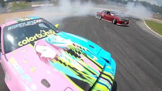 RAW CLIPS Drone/Drift & AUDIO (Road Atlanta) GRIDLIFE | FPV FREESTYLE