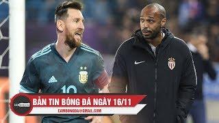 Bản tin Cảm Bóng Đá ngày 16/11   Messi có danh hiệu đầu tiên cùng Argentina, Henry trở lại MLS