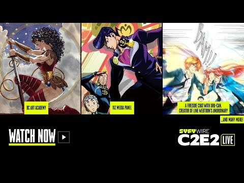 DC Comics, Viz Media, unOrdinary | C2E2 Panel Rm 2 (Day 3) | SYFY WIRE
