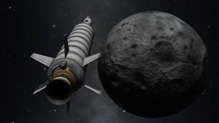 TO THE MUN! (But not back) - Kerbal Space Program #004