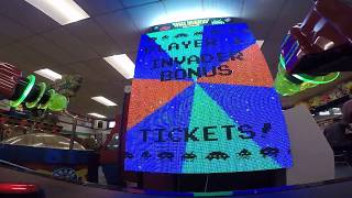 Space Invaders Frenzy Arcade Game JACKPOT WIN #17 at Salisbury Beach (From 5/18/18)