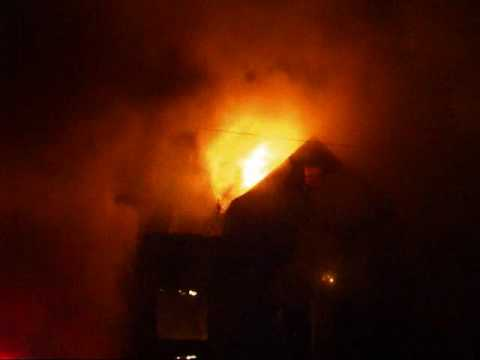 Gary Indiana Fully Involved House Fire On Connecticut