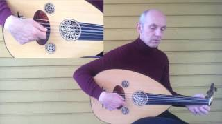 Oud training: right hand, the pendulum