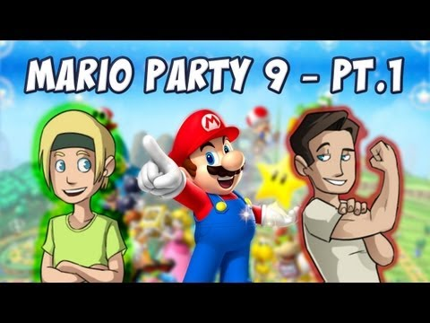 Mario Party 9 w/ Strippin & Sparkles* - Part 1