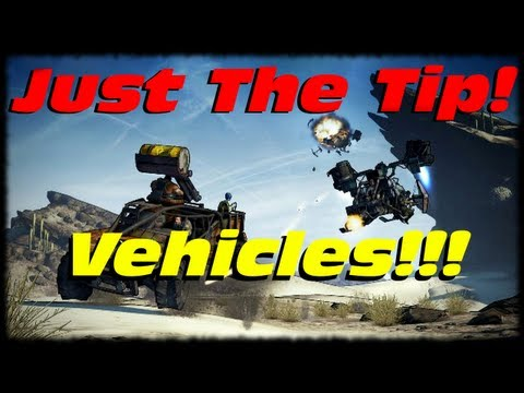 Borderlands 2 Tip Of The Day! 3 Things About Vehicles You Might Not Know!  Just The Tip!!!