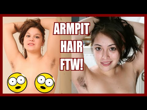 Extolling The Virtues Of Women's Armpit Hair video