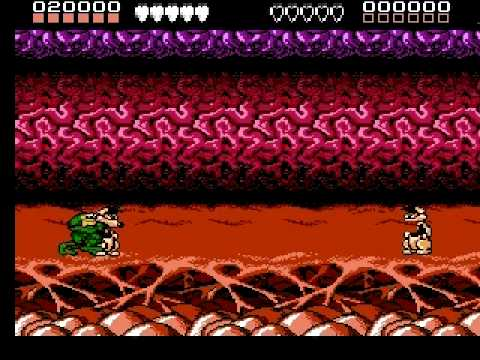 Battletoads walkthrough part 1