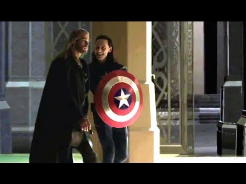 Thor: The Dark World Deleted Scene - Loki The First Avenger (HD) Tom Hiddleston