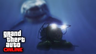 GTA 5 Easter Egg - Megalodon Location FOUND (GTA 5 Easter Eggs)
