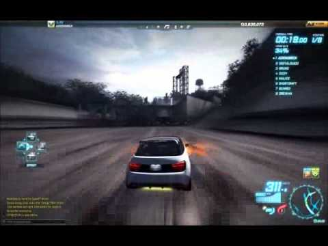 ADIDASR0X – NFS World, Waterfront Road Test – Lotus Exige vs Audi A1 vs M3 Sport Evo