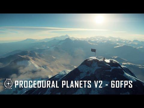 Star Citizen: Procedural Planets v2
